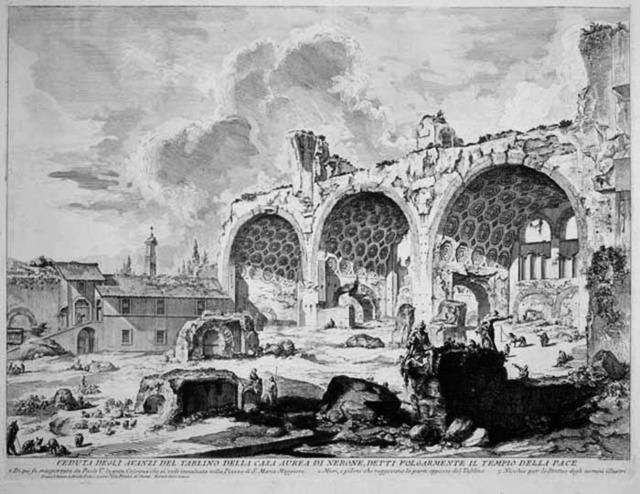, 'Veduta degli Avanzi del Tablino della Pace,' 1757, R. S. Johnson Fine Art