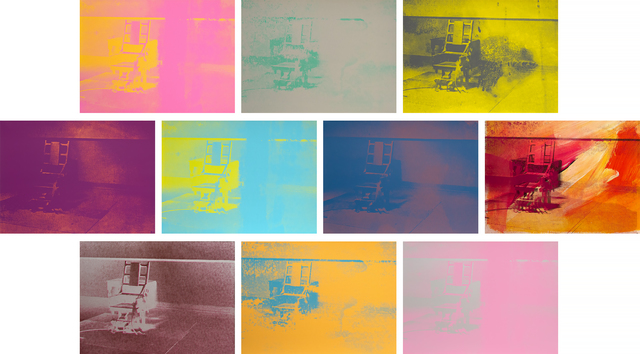 Andy Warhol, 'Electric Chairs', 1971, Heather James Fine Art