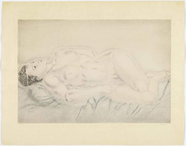 Léonard Tsugouharu Foujita, 'Nu étendu', 1930, Koller Auctions