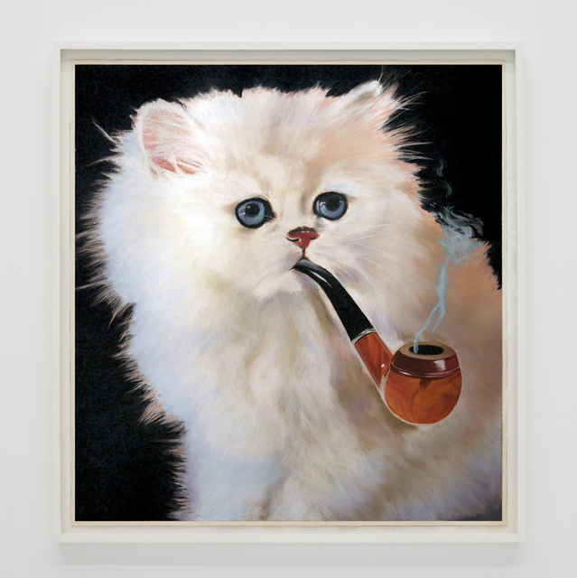 , 'This Is Not A Cat Smoking A Pipe ,' 2017, The Hole