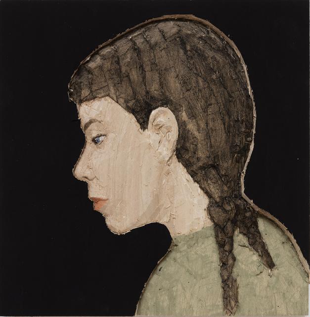 , 'Woman with braid,' 2017, Monica De Cardenas