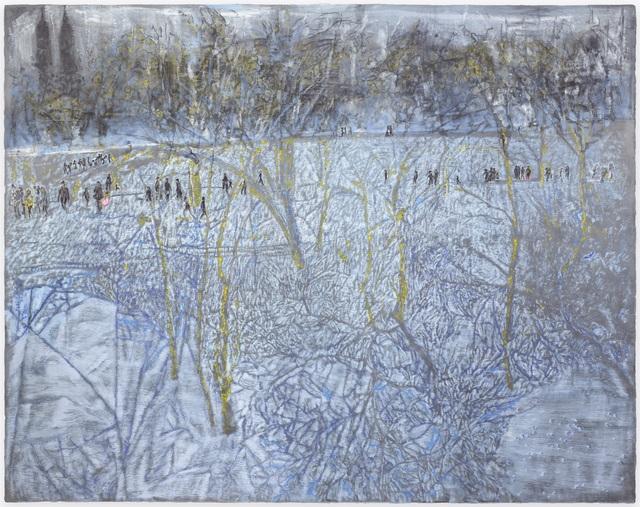 , 'twilight snow in Central Park,' 2017, Ben Brown Fine Arts