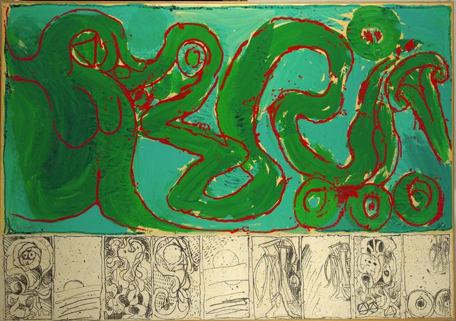 , 'CoBrA de transmission,' 1968, Musée d'Ixelles