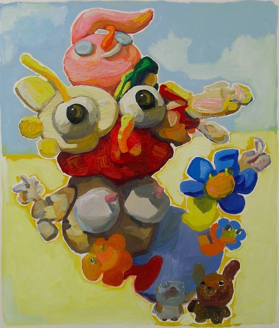 , 'Garden Woman with Animals  (#261),' 2014, Powen Gallery