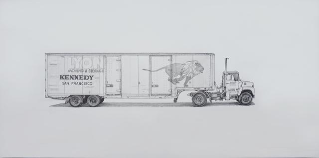 , 'Lyon,' 2017, Jonathan LeVine Projects