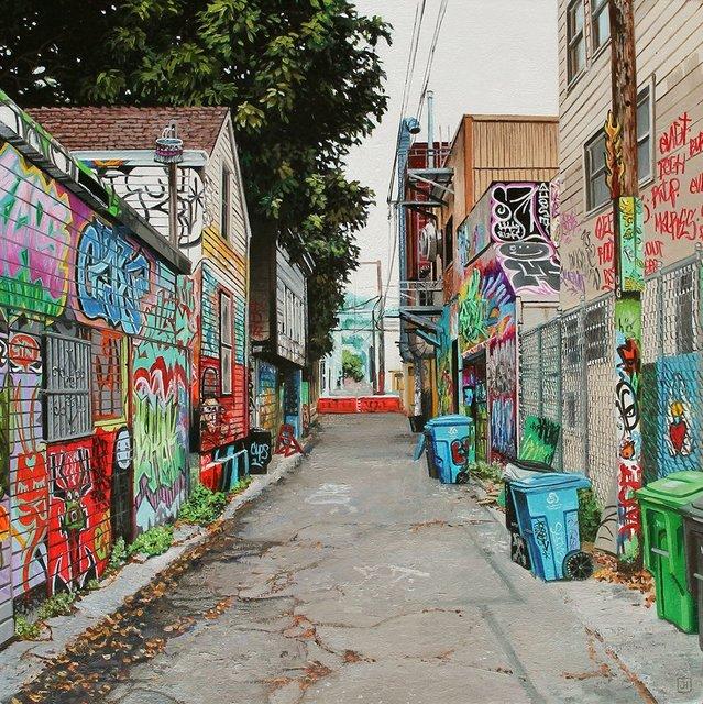 , 'Mission Alley II,' 2018, Spoke Art