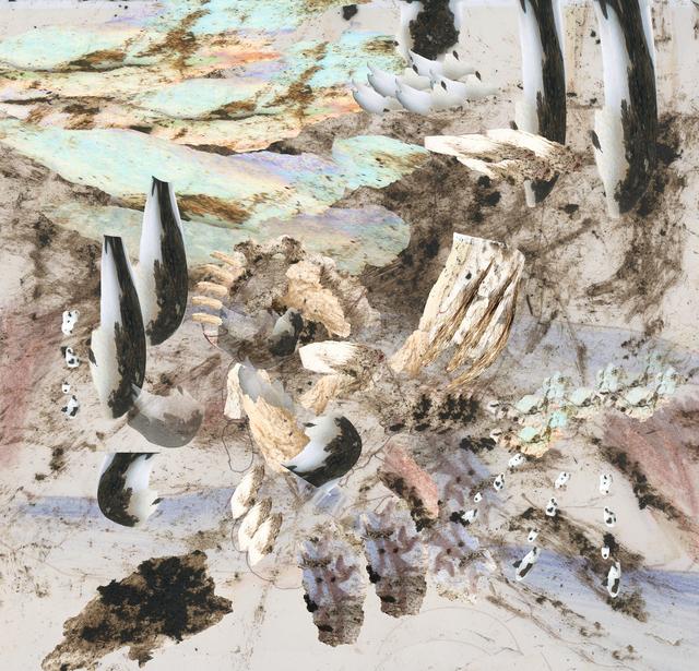 , 'Composition No. 1 (Seahorse),' 2019, Kovet.Art