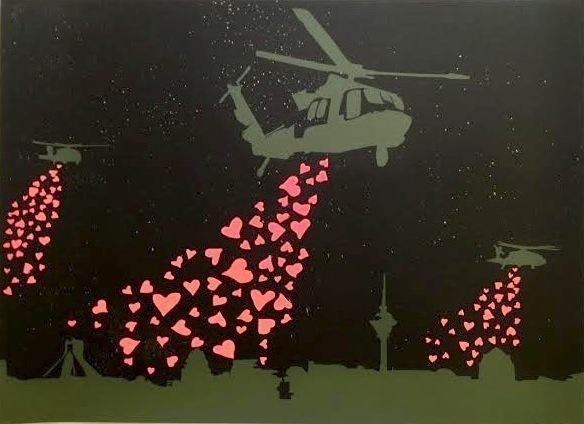 Ann Lewis, 'To Tehran with Love', 2013, Print, Silkscreen, Vertu Fine Art