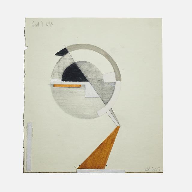 , 'Head 4 wb,' 2017, Helwaser Gallery
