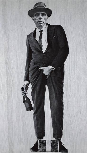 , 'Joseph Beuys Cojones (Silver),' 2016, The Know Contemporary