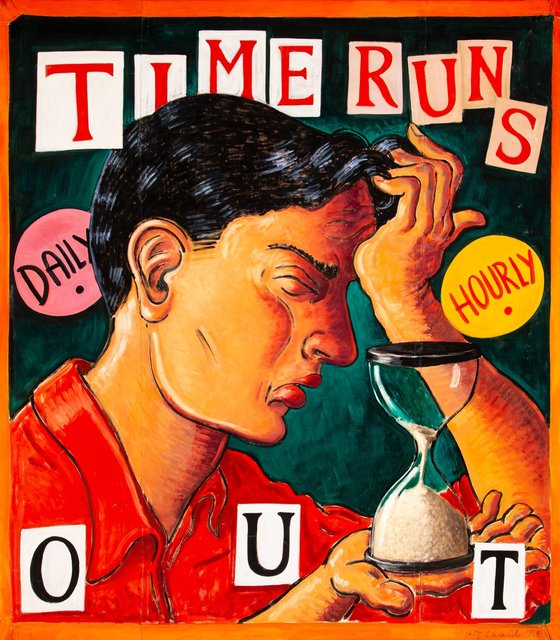 Robert Chiarito, 'Time Runs Out', 1994, Heritage Auctions