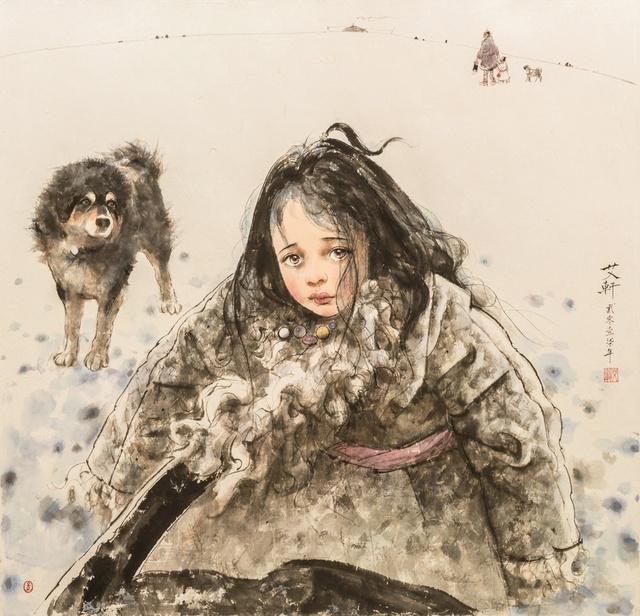 Ai Xuan, 'Early Winter at Waqie Village', 2017, Kwai Fung Hin
