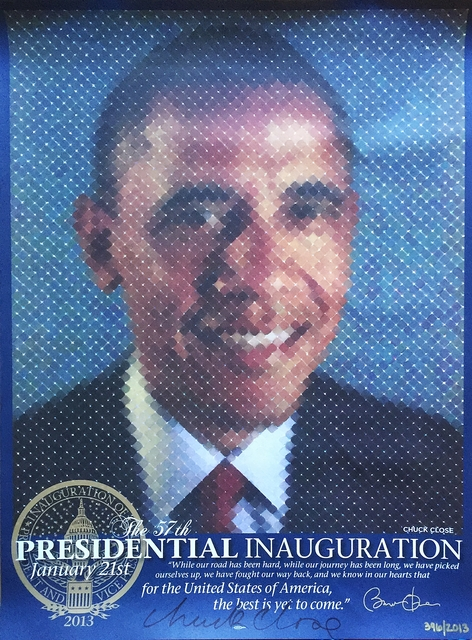 , 'The Presidential Inauguration (Hand Signed),' 2013, Alpha 137 Gallery