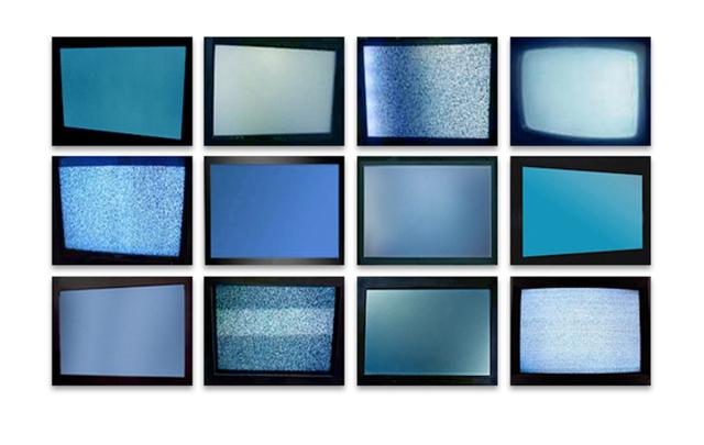 Penelope Umbrico, 'Signal Stills, 2010-2012,' 2010-2012, Mark Moore Gallery