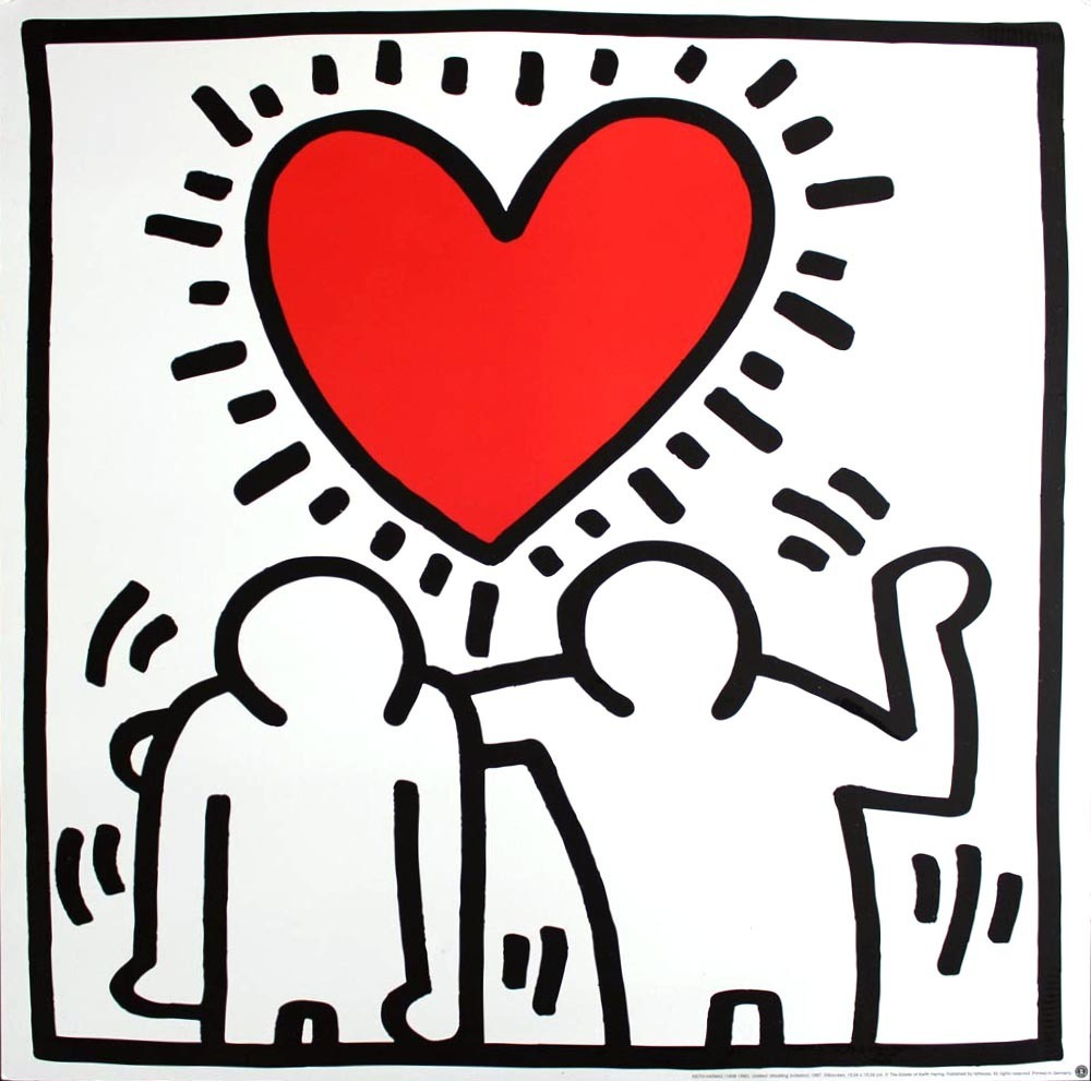Keith Haring   Wedding Invitation (ca. 1993)   Available for Sale ...