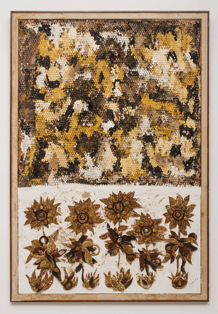 , 'Beehive and Sunflowers,' 2018, Galerie Dumonteil