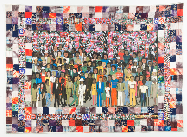 Faith Ringgold, 'Subway Graffiti #2,' 1987, ACA Galleries