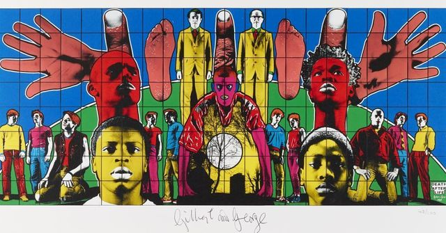 Gilbert and George, 'Death after Life', 2008, Roseberys