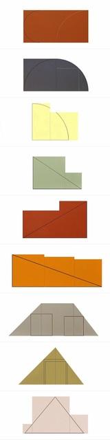 , 'Multiple Panel Paintings, 1973-1976,' 1977, F.L. Braswell Fine Art