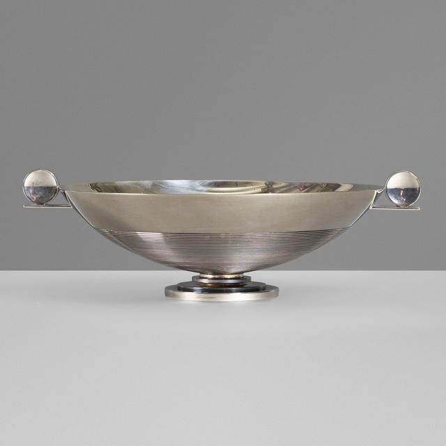 Johannes Siggaard, 'Footed bowl', 1933, Design/Decorative Art, Silver, Rago/Wright