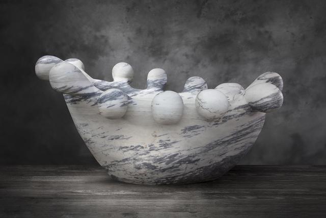 ", '""Bathy Bates"" in hand-carved Pele de Tigre marble,' 2018, R & Company"