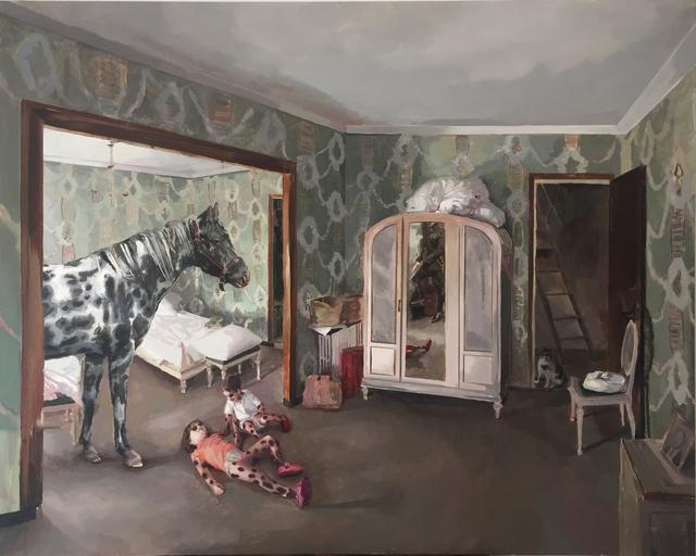 , 'Si naces en un establo eres un caballo,' 2017, Galeria Contrast