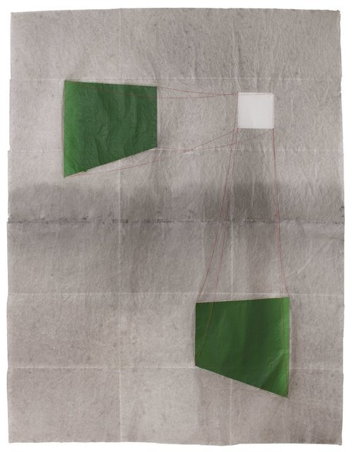 , 'El Gran Green Room,' 2017, Maddox Arts
