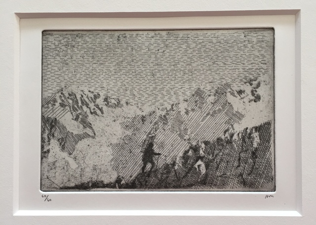 , ' Rumours took me back up the mountain, (The Goldmine),' 2016, Julian Page