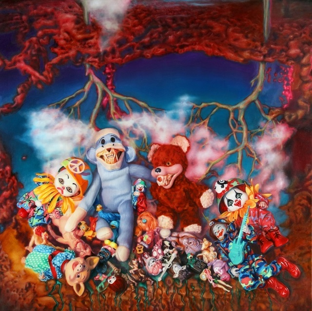 , 'Plush Grin,' 2016, Eternity Gallery