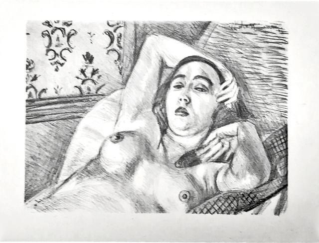 , 'Le repos du modele ,' 1922, Fairhead Fine Art Limited
