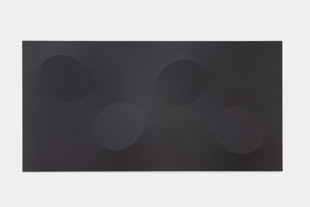 , 'Quattro ovali neri,' 2015, Leeahn Gallery
