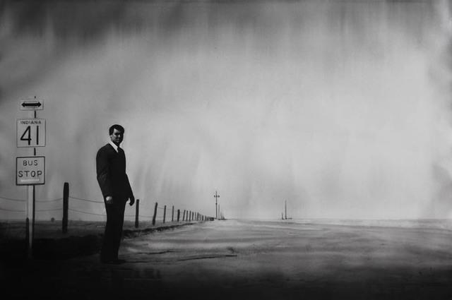 , 'La Mort aux trousses, Alfred Hitchcock (North by Northwest, 1959),' 2016, Galerie Les filles du calvaire
