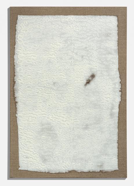 , 'Tabula Rasa,' 2008, Gallery NAGA
