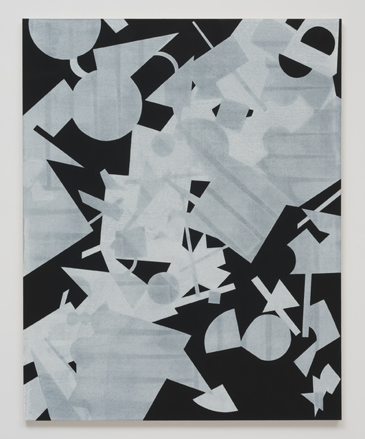 , 'Untitled (Black Shape Painting 3),' 2013, Roberts & Tilton