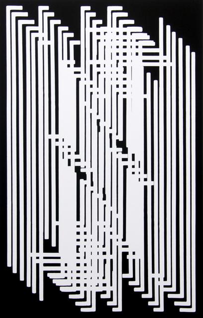 José Oiticica Filho, 'Recriação 6.12 - B', 1958, Galeria Raquel Arnaud