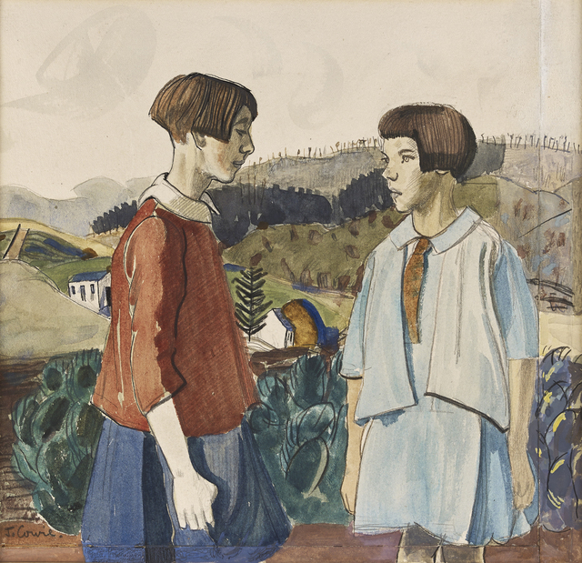 , 'In the Country,' 1930, The Scottish Gallery