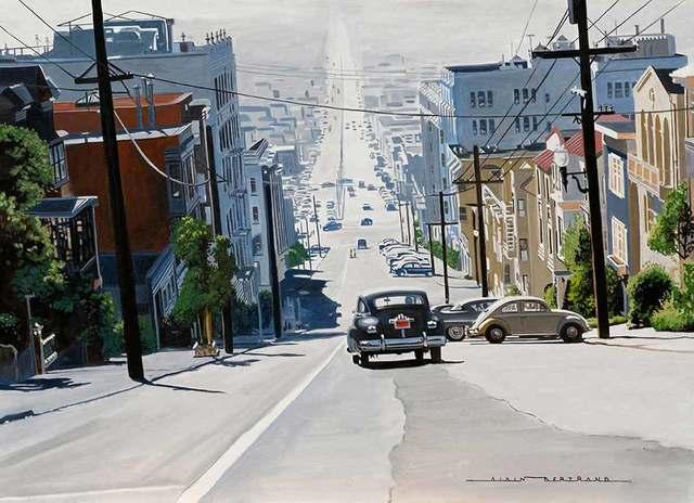 Alain Bertrand, 'Lombard Street, San Francisco', Catto Gallery