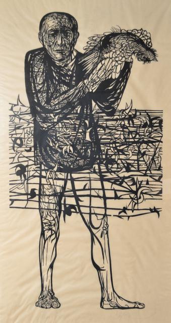 Leonard Baskin, 'Man of Peace', 1952, Galerie St. Etienne