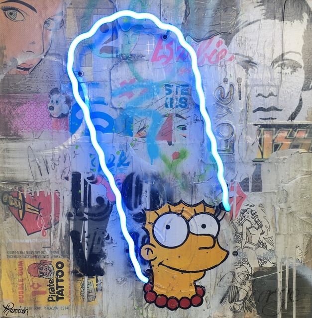 , 'Funny Marge,' 2017, Galerie LeRoyer