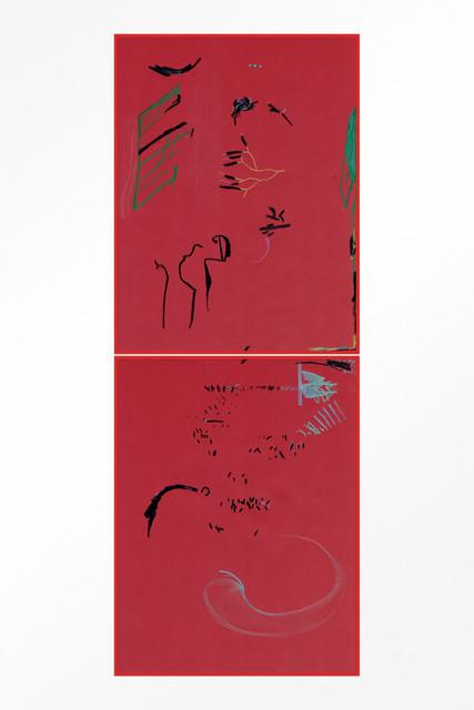 , 'Blood drawings,' 2018, Lodos