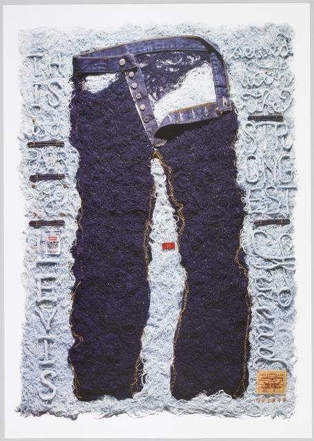 Joe Shouldice, 'Levi's, The Strongest Thread (poster)', 2009, Cooper Hewitt, Smithsonian Design Museum
