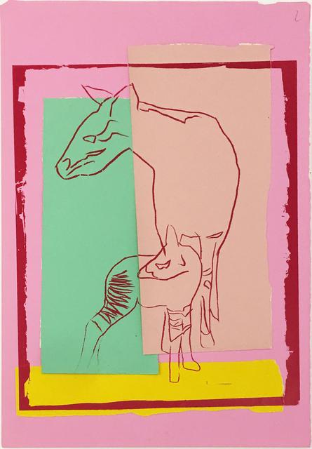 , 'Vanishing Animals -- Okapi,' 1986, Hamilton-Selway Fine Art
