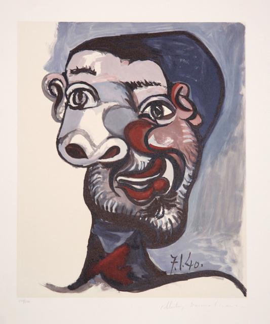 Pablo Picasso, 'Tete de Homme, 1940', 1979-1982, RoGallery
