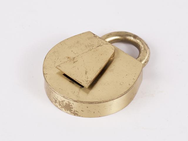 , 'Brass Padlock Box,' 1950, Patrick Parrish Gallery