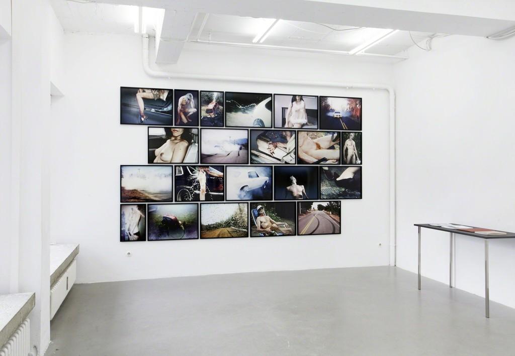 Jaunt, 2014, fine art prints, framed