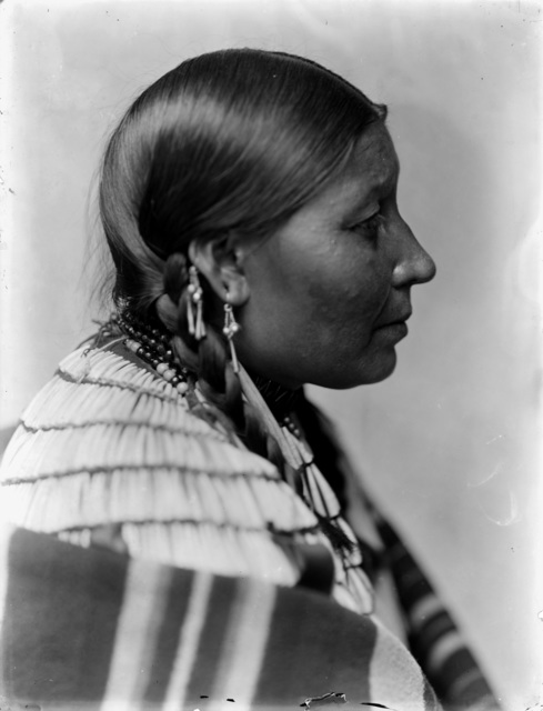 , 'Wife of American Horse, Dakota Sioux,' 1900, Machamux