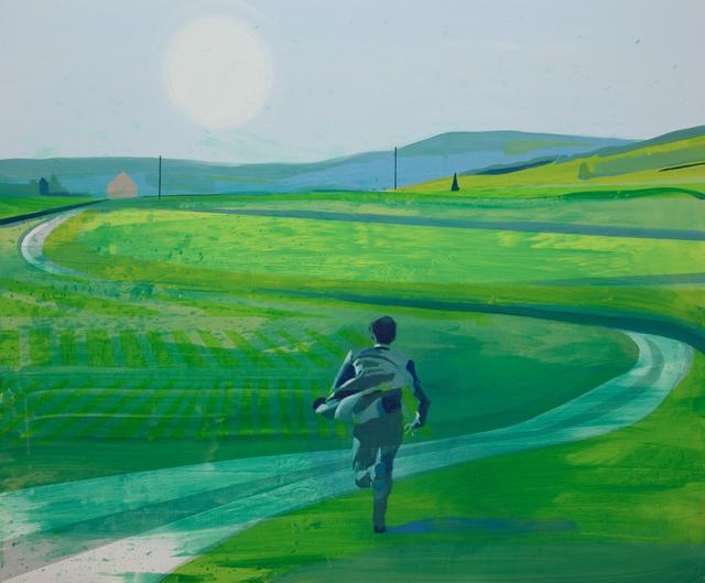 Kenneth Blom, 'Blue Field', 2018, Jason McCoy Gallery