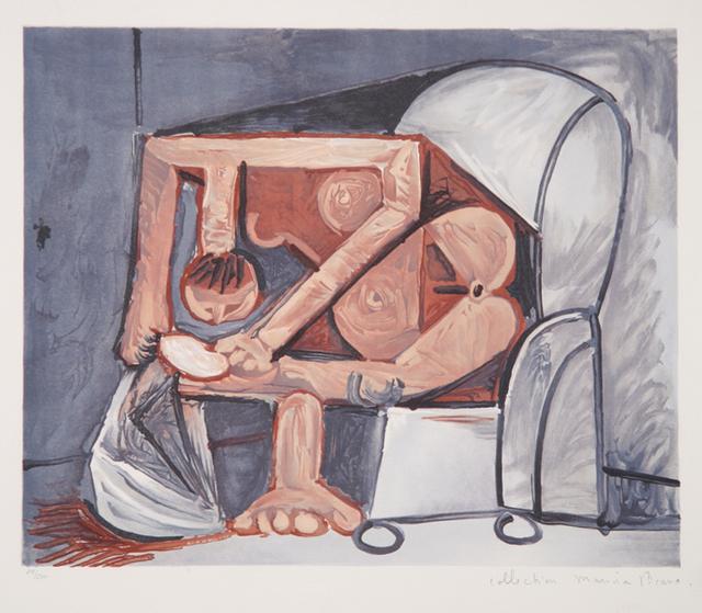 Pablo Picasso, 'Femme a la Toilette, 1960', 1979-1982, RoGallery