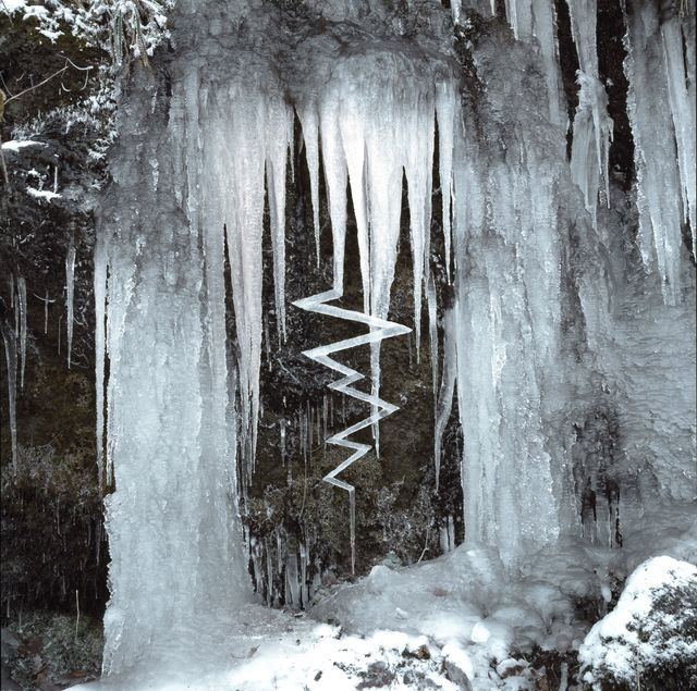 , 'Reconstructed icicles,' 2010, Marta Moriarty