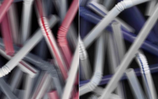 , 'Molecular (straw) II,' 2002, Galerija Gregor Podnar